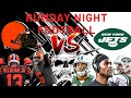 NFL Monday Night Football Cleveland Browns vs New York Jets! #NFL100 #MNF