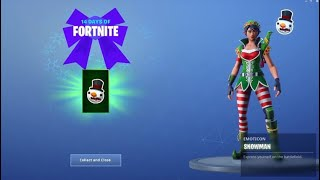 Fortnite 14 Days Of Christmas Day 4 Rewards (Guide)