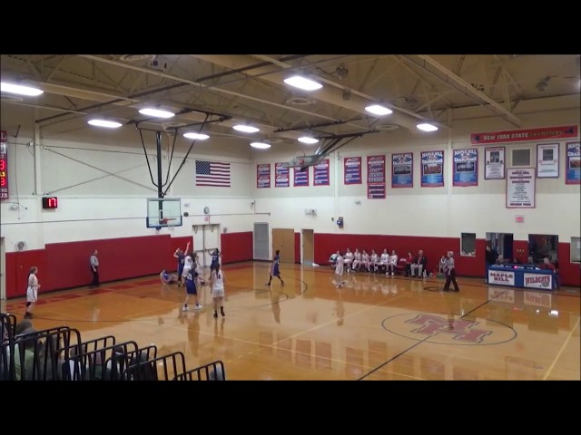 Game Highlights Girls' Varsity: Hudson 34 vs Maple Hill 50 (F)