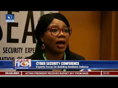 News@10: Cyber Security Experts Focus On Building Resilient Defense In Nigeria 19/05/17 Pt.2
