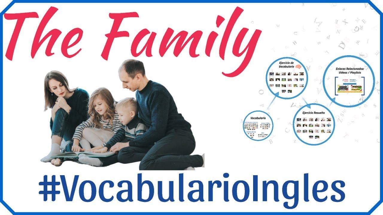 Vocabulario De La Familia En Inglés Con Imágenes Miembros De La Familia En Inglés Y Español 1