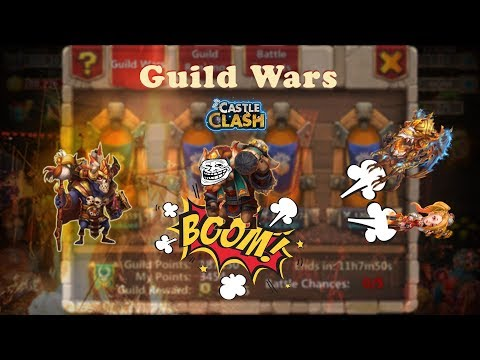 Castle Clash: GuildWars Top 5 #1 Walla Replace MC | GS Ske Base