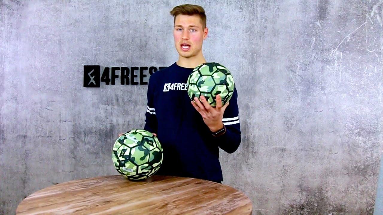 4Freestyle Ballon Freestyle Camo Ball Football Freestyle