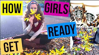 How Girls Get Ready For Fall! | Krazyrayray