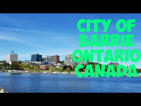 City Of Barrie, Ontario, Canada