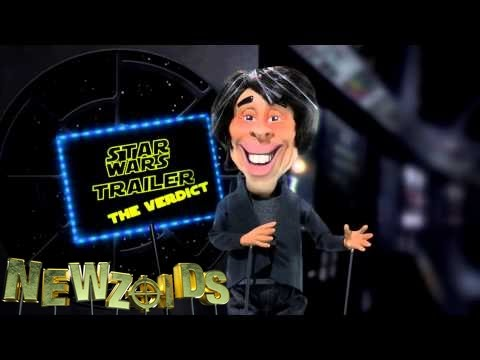 Brian Cox reacts to STAR WARS - Newzoids