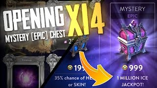Vainglory - Chest Opening: MASSIVE EPIC CHEST OPENING! [14 Chests]