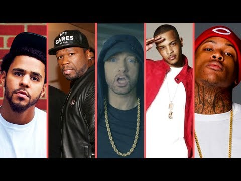 Rappers React To Eminem Donald Trump BET Hip Hop Awards Freestyle Cypher 2017 (50 Cent J Cole T.I.)