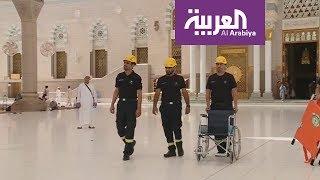 مديرية الدفاع المدني تجهز طواقمها الإسعافية والفنية خدمة لزوار المسجد النبوي