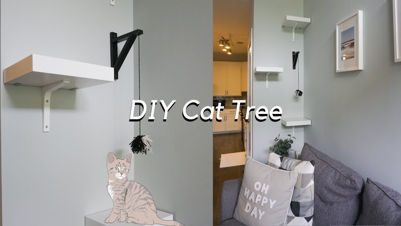 Diy Cat Tree Using Ikea Products You