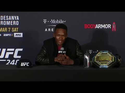 UFC 248: Israel Adesanya Post-fight Press Conference