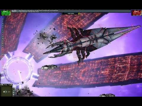 Mass Effect Space Battle Against Sovereign Reaper