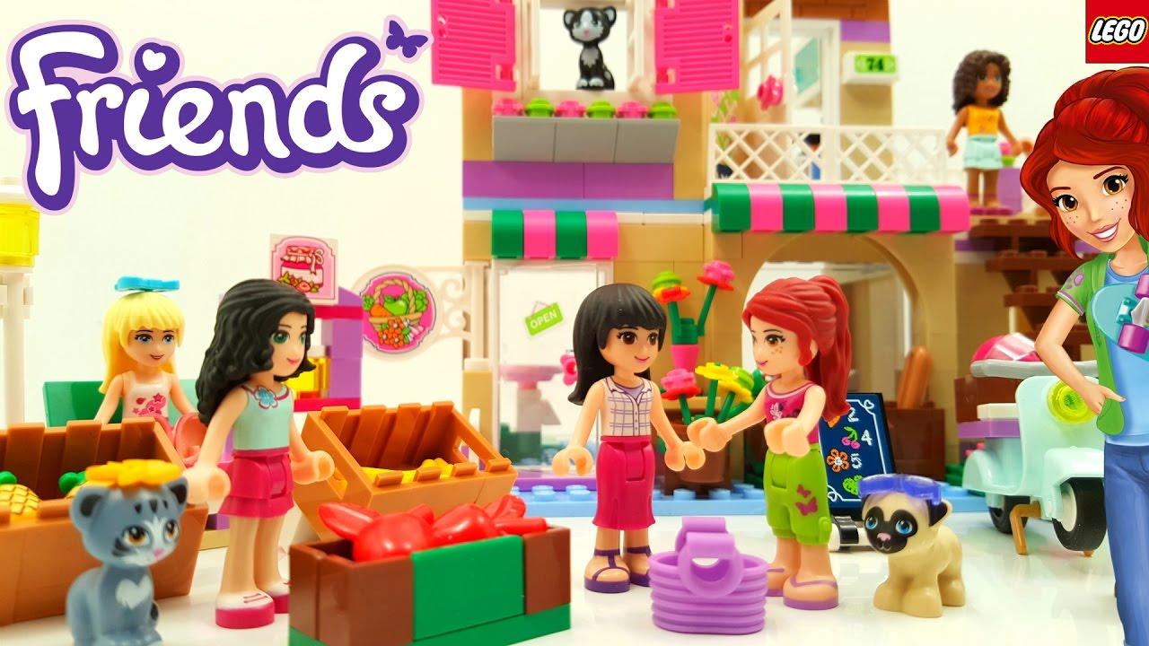 Download Lego Friends Heartlake Food Market Building Review 41108