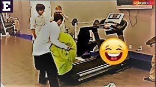 En Komik Koşu Bandı Kazaları izLe ⚫ Funny Treadmill Fails Compilation
