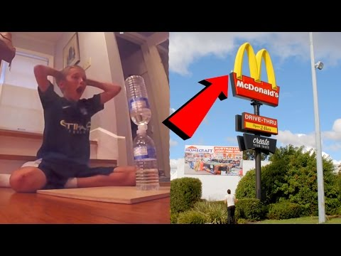 Top 10 IMPOSSIBLE Youtuber Water Bottle Flips (Best Water Bottle Flip Trickshots)