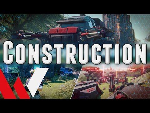 Construction System Walkthrough - PlanetSide 2