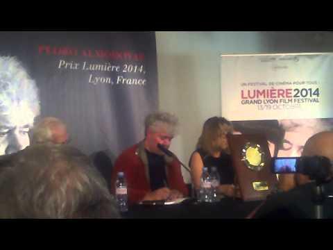 Conférence de presse de Pedro Almodovar