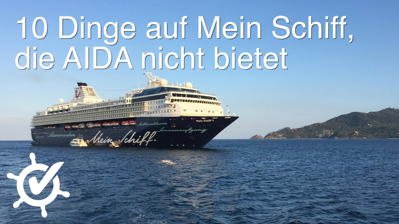 10 dinge auf mein schiff die aida nicht bietet youtube. Black Bedroom Furniture Sets. Home Design Ideas