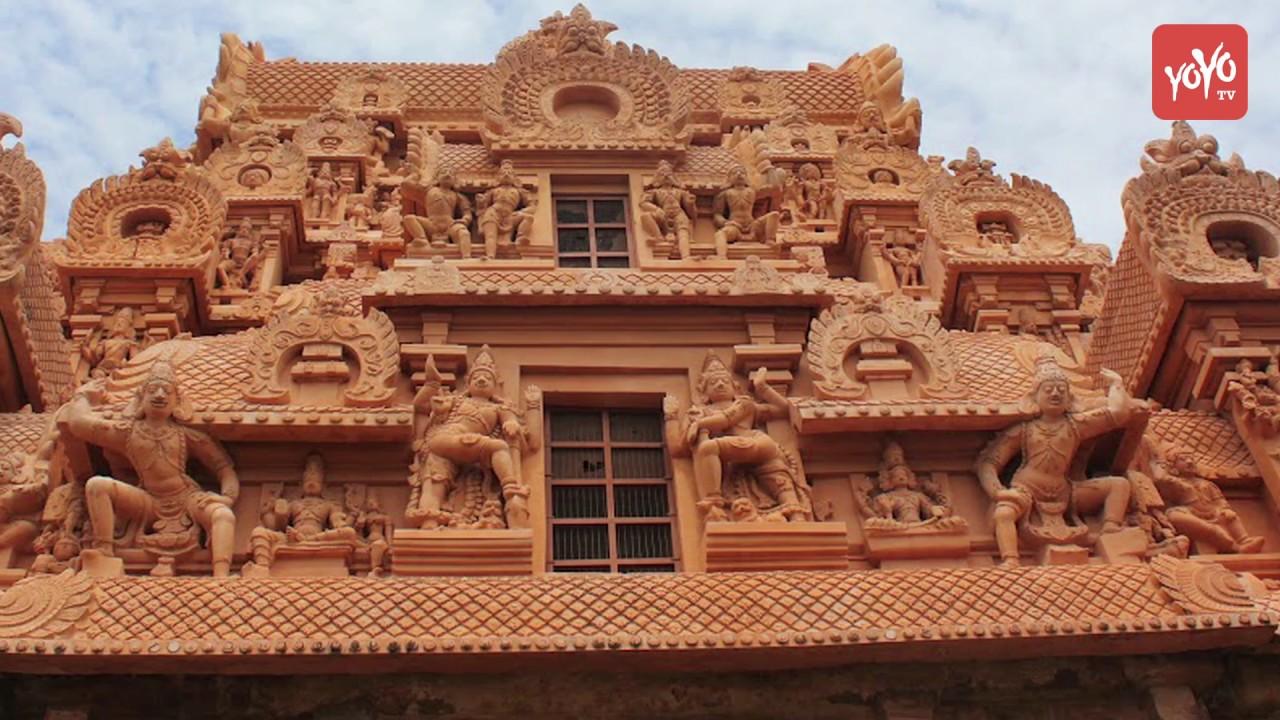 Brihadeshwara Temple Telugu Thanjavur Temple Tamil Nadu బహదశవరలయ రహసయల Yoyo Tv Channel