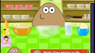 Pou Cooking Pie (Поу готовит пирог) - прохождение игры
