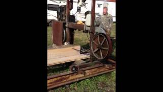 Homemade Bandsaw Mill Part 1