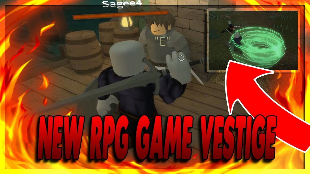 Best Roleplay Games On Roblox This New Roblox Rpg Game Is Amazing Vestige Youtube