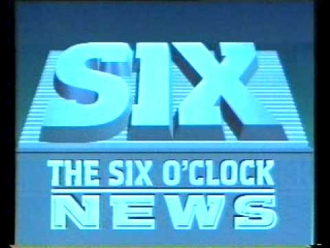 BBC1 Continuity 24th May 1988, Neighbours, BBC 6 O'Clock News