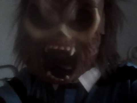 scary mask masque qui fait peur youtube. Black Bedroom Furniture Sets. Home Design Ideas