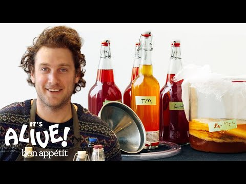 How to Brew Your Own Kombucha with Brad | Its Alive | Bon Appetit