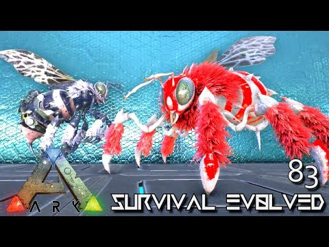 ARK: SURVIVAL EVOLVED - NEW TEK BEE & GIANT PRIME BEE FOREWORLD MYTH E83 (MOD EXTINCTION CORE)