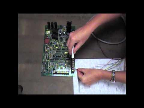 G8500 Generac H Panel Controller Install-Video Video