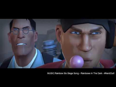 Team Fortress2 in Music of Rainbows In The Dark - NerdOut!