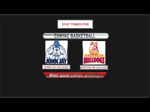 BROOKLYN COLLEGE BASKETBALL DOUBLE HEADER VS JOHN JAY COLLEGE 12-4-15