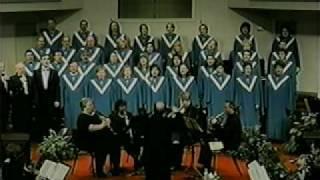 """FBC Waskom Choir """" Crown Him King of Kings"""" 2001 Easter"""