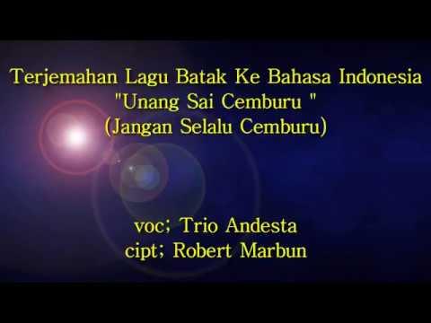 Terjemahan Lagu Batak Ke Bahasa Indonesia