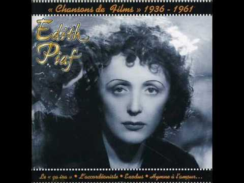 Edith Piaf - T'es Beau Tu Sais poster