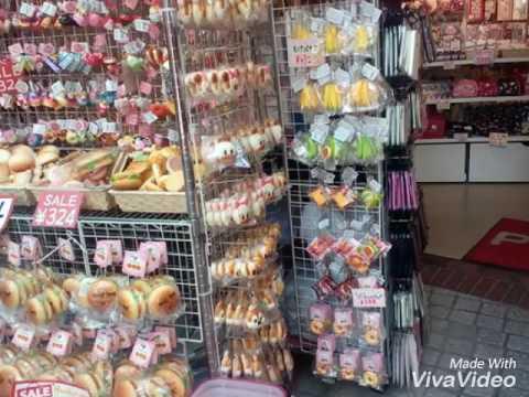 原宿ピクニックスクイーズが売っていたお店の雰囲気①