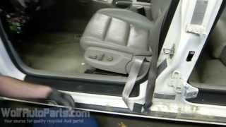 how to remove the front seat b6 b7 audi a4 2002 2008 wolf auto parts