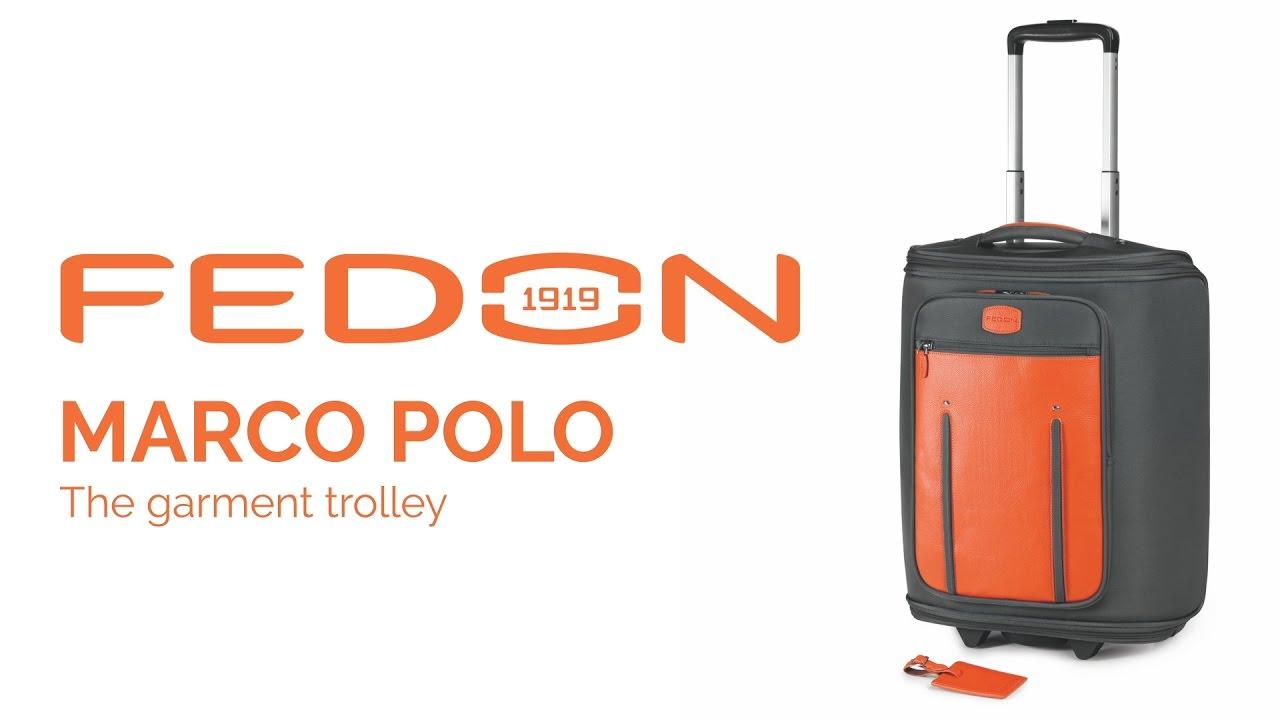 FEDON Marco Polo luggage - 5 giorni di viaggio in una valigia - YouTube 2c21891e5b0