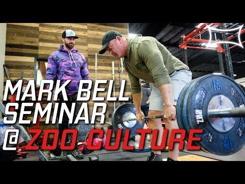 Squatting in the Curl Rack - Zoo Culture Gym Seminar