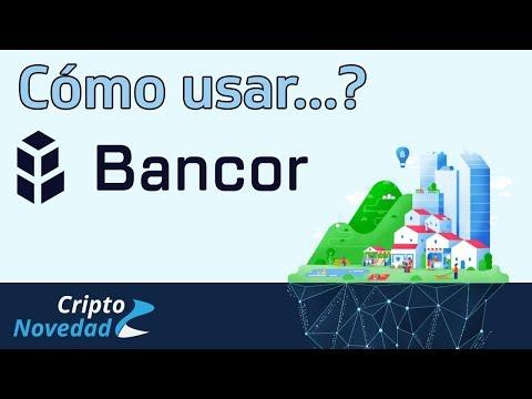 Cómo hacer para comprar o vender tokens en la red de Bancor? - Tutorial