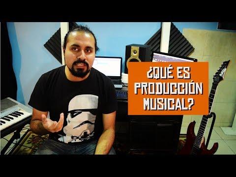 ¿Qué es la Producción Musical?