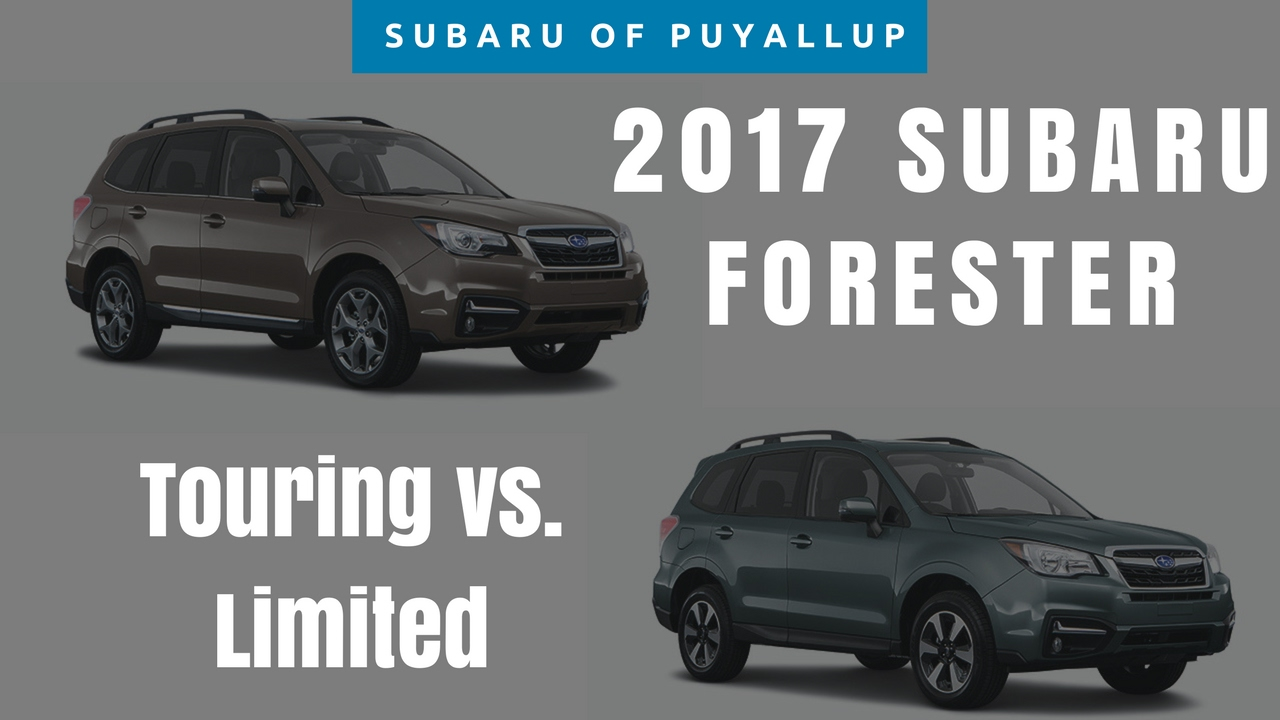 2017 subaru forester comparison. Black Bedroom Furniture Sets. Home Design Ideas