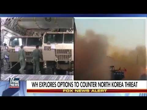 US deploys missile defense system to South Korea!