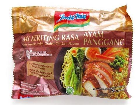 Image result for 2. Indomie, Rasa Ayam Panggang, Indonesia