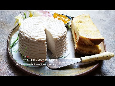 FRESH VEGAN  RICOTTA - CHEESE | Connie's RAWsome kitchen