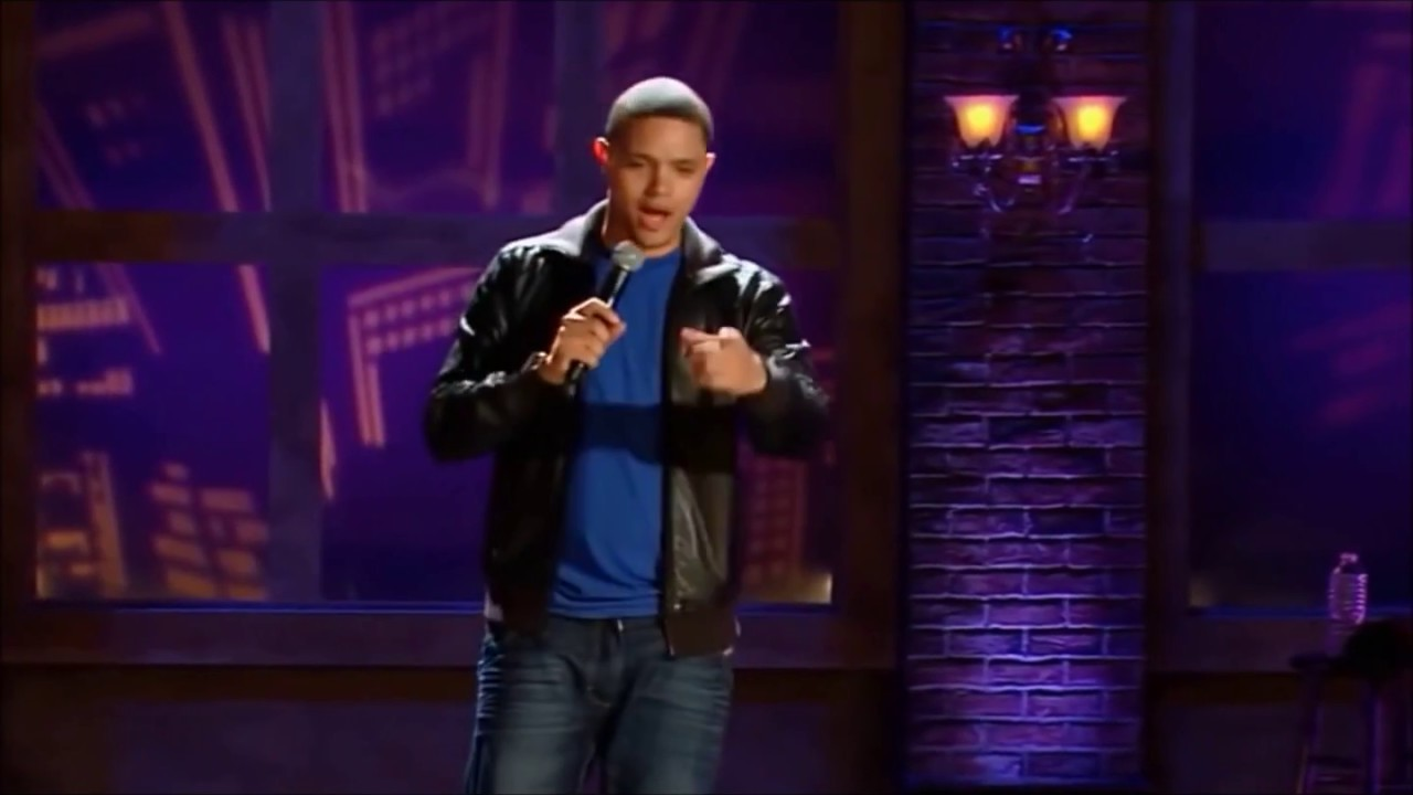 Trevor Noah Stand Up Comedy Japanese Airport Scene Impersonations