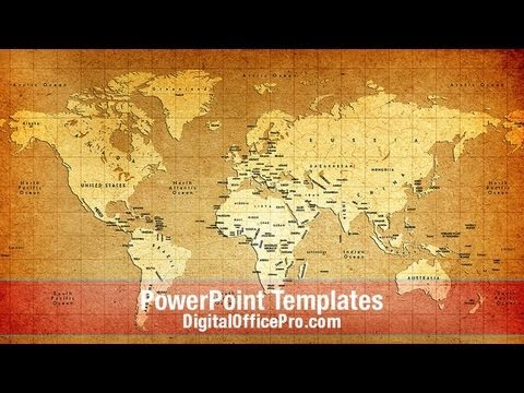 Old world map powerpoint template backgrounds digitalofficepro old world map powerpoint template backgrounds digitalofficepro 06009w gumiabroncs Gallery