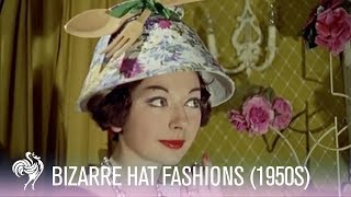 Bizarre Hat Fashions with a Kitchen Theme!