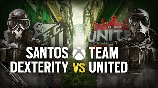 [BR] SANTOS DEX vs. TEAM UNITED | Play Day #6 | EliteSix S03 (XBOX)